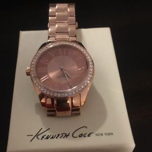 Rose Gold Kenneth Cole watch NEW in the box